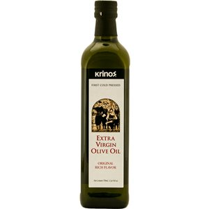 KRINOS Extra Virgin Olive Oil (Silver) 750ml