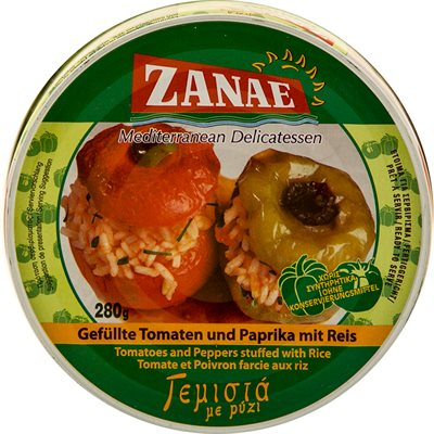 ZANAE Stuffed Peppers & Tomatoes 280g