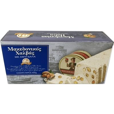 HAITOGLOU Macedonian Halva with Almonds 400g