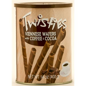 HAITOGLOU Twisties Viennese Wafers - Coffee 400g