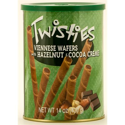 HAITOGLOU Twisties Viennese Wafers - Hazelnut 400g