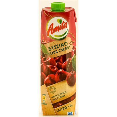 AMITA Sour Cherry Juice 1L