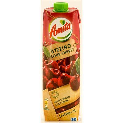 AMITA Sour Cherry Juice 1L