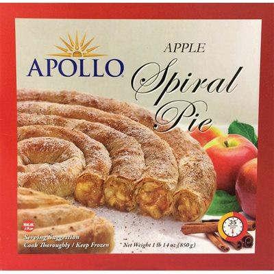 APOLLO Apple Spiral Pie 850g