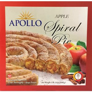 APOLLO Apple Spiral Pie 850g