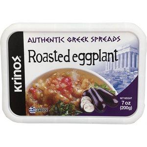 KRINOS Roasted Eggplant Spread 7oz