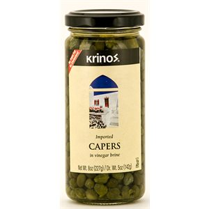 KRINOS Capers 8oz