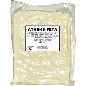 ATHENS Domestic Feta Cheese 4lb