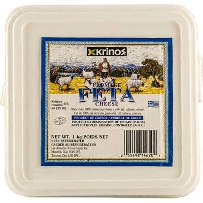 KRINOS Feta Cheese 1kg