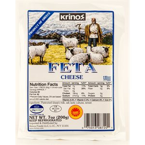 KRINOS Feta Cheese 200g