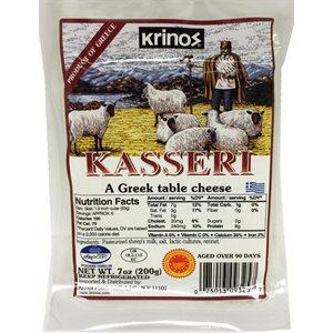 KRINOS Kasseri Cheese 200g