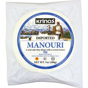 KRINOS Manouri Cheese 7oz