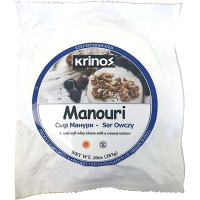 KRINOS Manouri Cheese 10oz