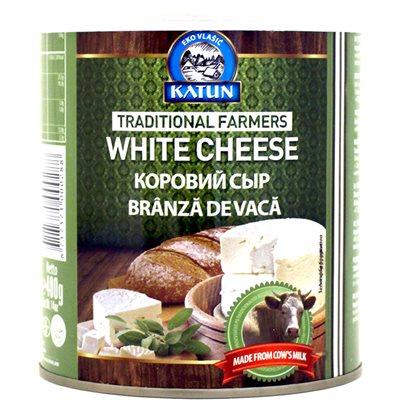KATUN White Cow's Milk Cheese 400g tins