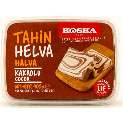 KOSKA Cocoa Halva 400g