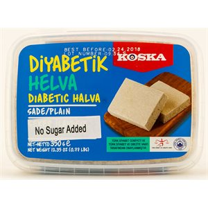 KOSKA Plain Light Halva 350g