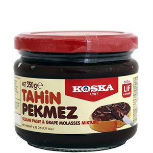 KOSKA Sesame Paste & Grape Molasses 350g