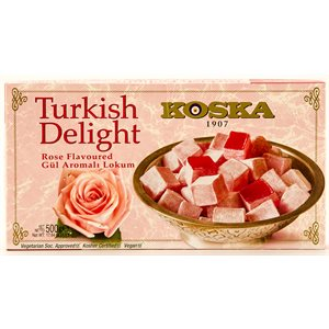 KOSKA Turkish Delight Rose Lokum 500g