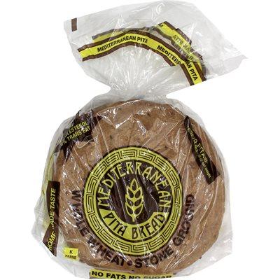 MEDITERRANEAN PITA Whole Wheat Pita Bread 10pc