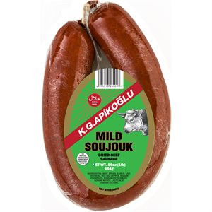 APIKOGLU Mild Soujouk 1lb pack