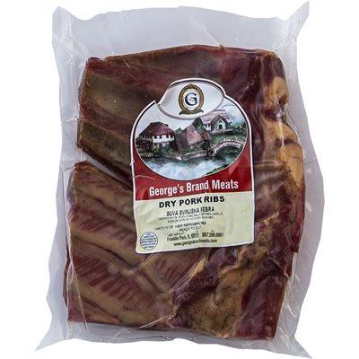 GEORGE'S Smoked Dry Pork Ribs (Suva Svinjska Rebra) Appr 20lb