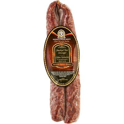 GEORGE'S Smoked Tea Sausage (Cajna Kobasica) Appr 20lb