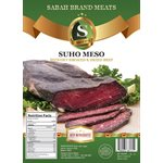 SABAH Smoked Dried Beef (Suva Meso) Appr 20lb