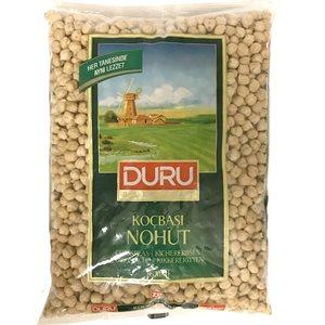 DURU Raw Chick Peas (Nohut) 12/1 kg (502)