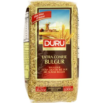DURU #4 Extra Coarse Bulgur (Iri Pilavlik) 1kg