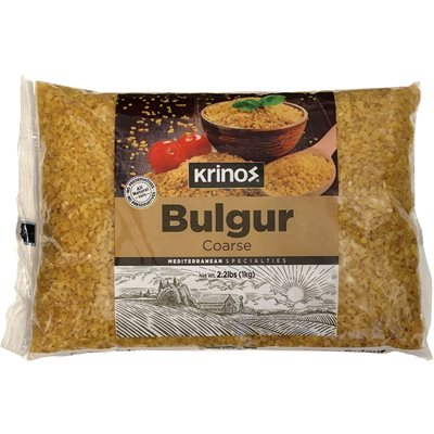 KRINOS Bulgur #3 (Coarse) 1kg