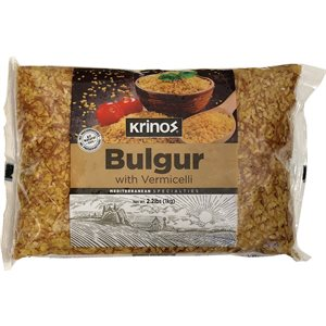 KRINOS Bulgur with Vermicelli 1kg