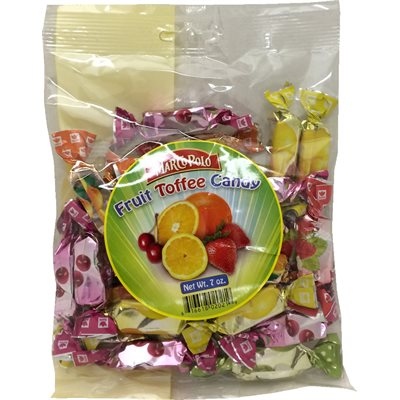 MARCO POLO Fruit Toffee Candy 7oz
