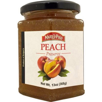 MARCO POLO Peach Preserves 13oz