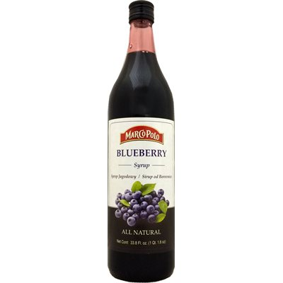 MARCO POLO Blueberry Syrup 1L
