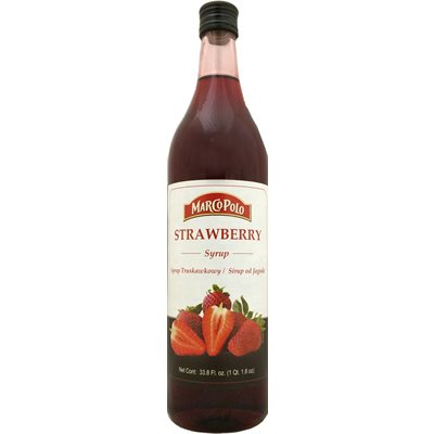 MARCO POLO Strawberry Syrup 1L