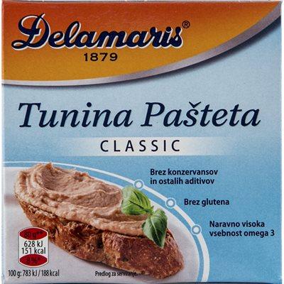 DELAMARIS Classic Tuna Pate 80g