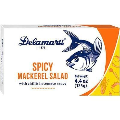 DELAMARIS Spicy Mackerel Salad 125g