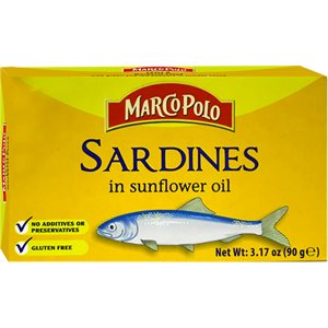 MARCO POLO Sardines in Sunflower Oil 90g