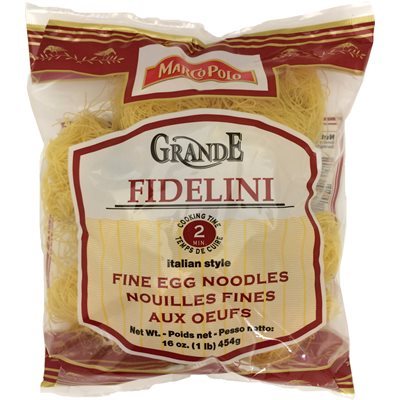 MARCO POLO Grande Fidelini Fine Egg Nest Noodles 1lb