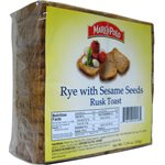 MARCO POLO Rye with Sesame Golden Rusks 7.7oz