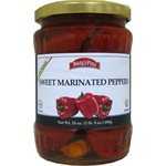 MARCO POLO Sweet Marinated Peppers 24oz