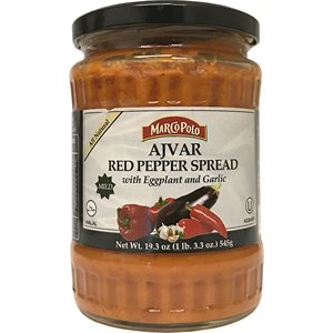 MARCO POLO Mild Ajvar Red Pepper Spread 19.3oz