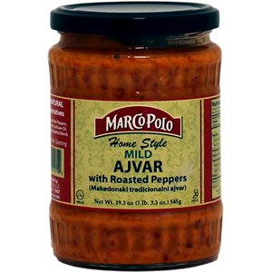"MARCO POLO ""Homestyle"" Mild Ajvar Spread with roasted peppers 19.3oz"