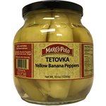 MARCO POLO Yellow Banana Peppers (Tetovka) 1500g