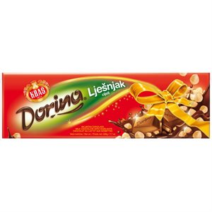 KRAS Dorina Chocolate with hazelnuts 220g