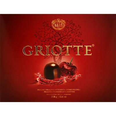 KRAS Griotte Chocolate-Covered Cherries 358g