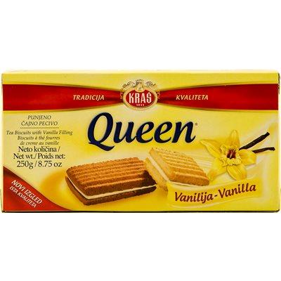 KRAS Queen Vanilija Cookies 250g