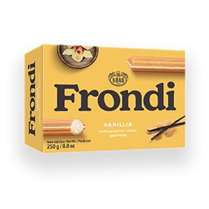 KRAS Frondi Vanilla Wafers 250g