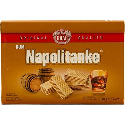 KRAS Napolitanke Rum Wafers 330g