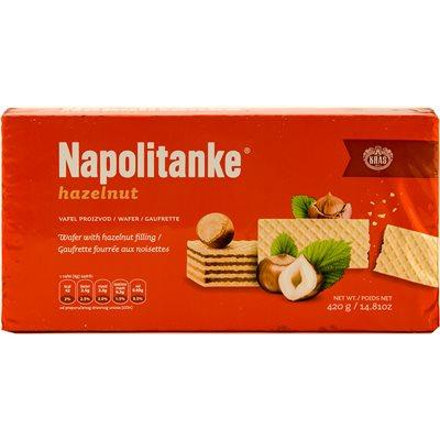 KRAS Napolitanke Hazelnut Wafers 420g